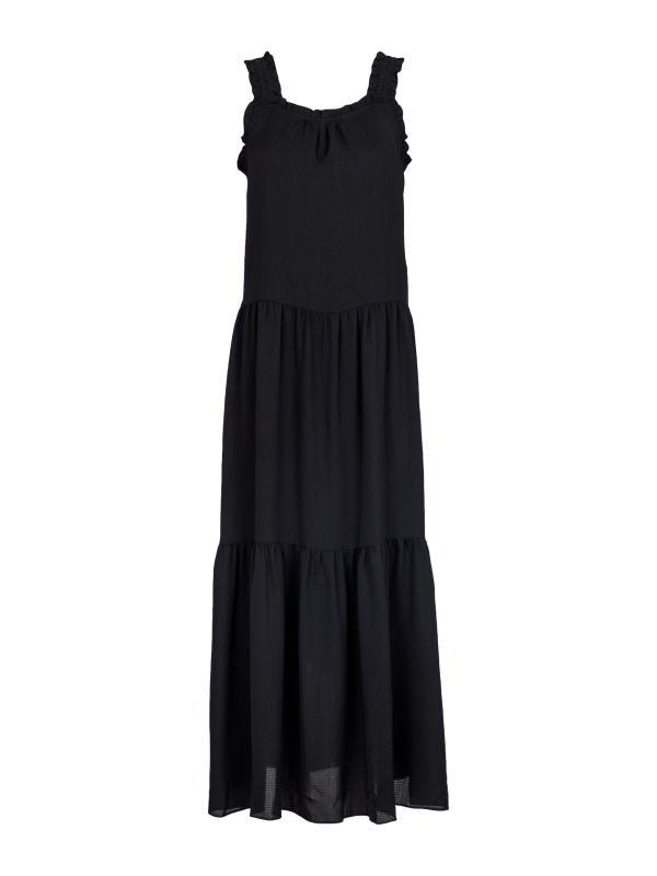 Arisona Crepe Dress Black