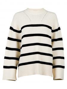Frani Stripe Knit Blouse