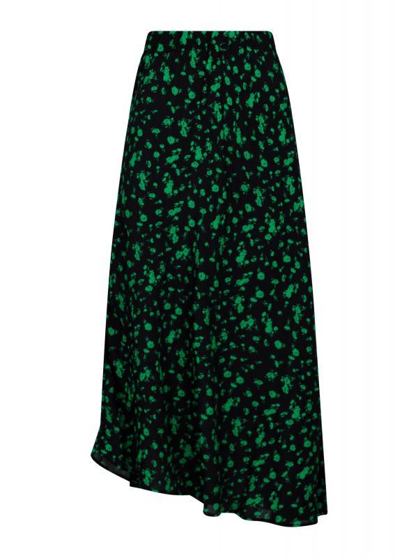 Bovary Shade Flower Skirt Green