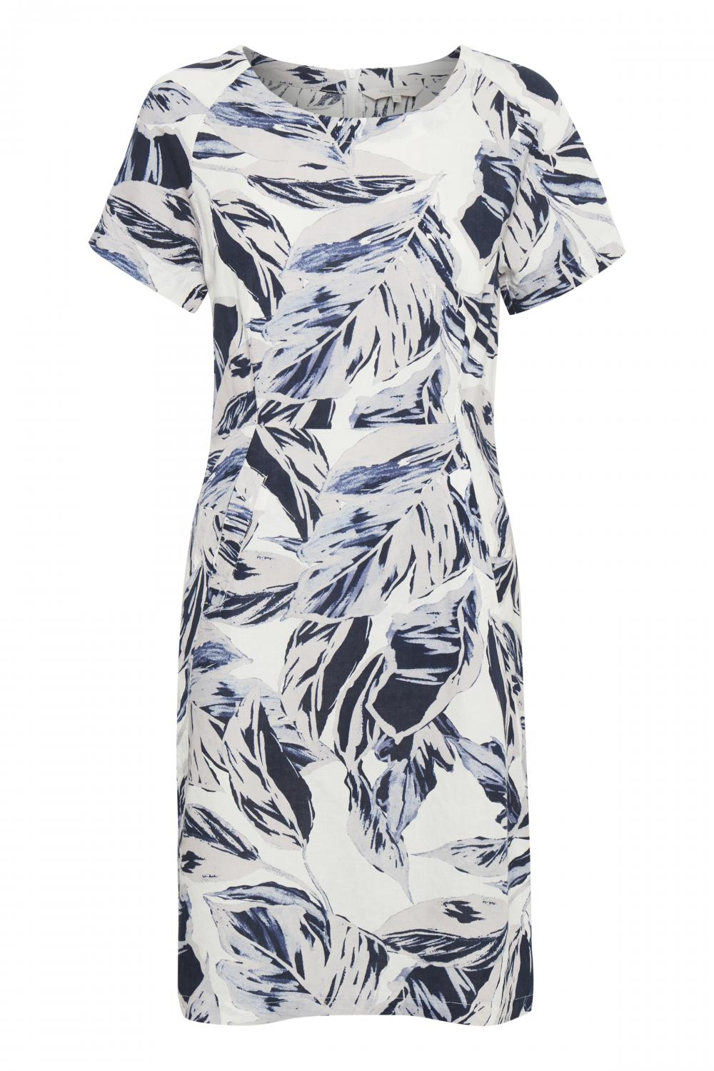 IndreasPW DR Blue Palm Print