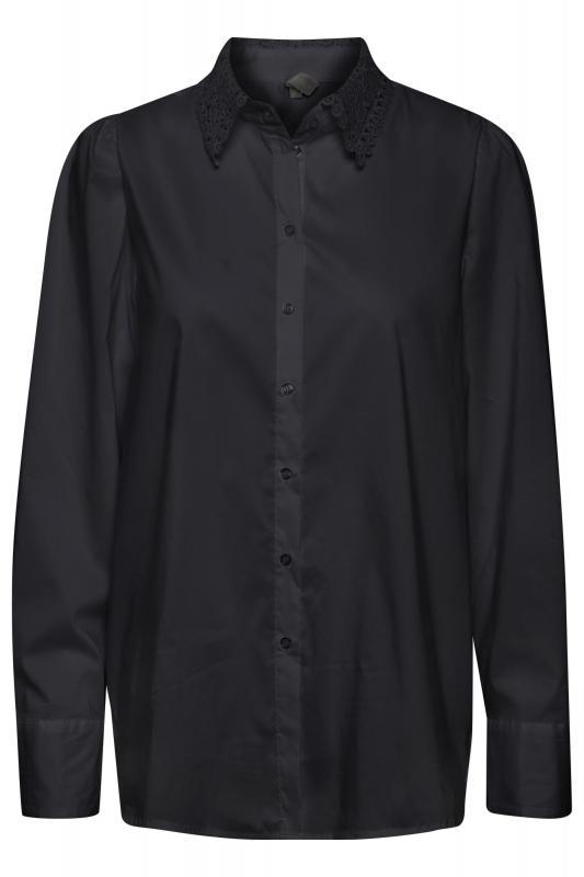 CUantona Lace Shirt Black