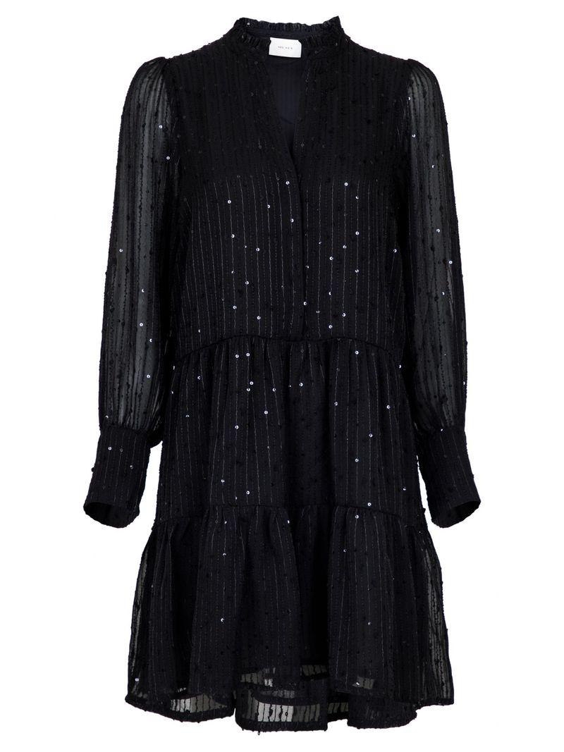 Frei Glitter Stripe Dress