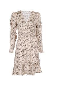 Brandy Gloomy Flower Dress Camel Multi/Mönstrad