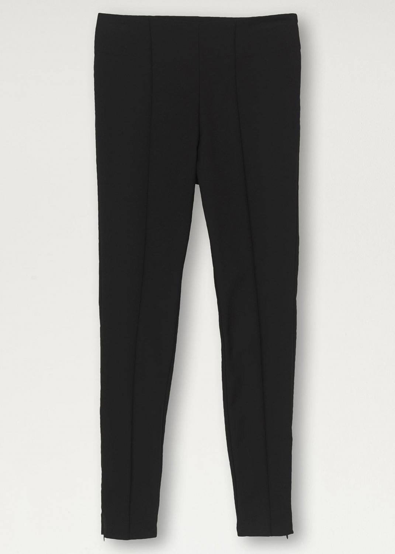Stretch-Cotton Trousers Black
