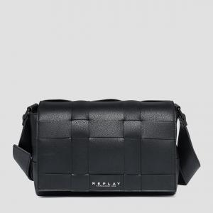 Reversible Flap Bag Svart