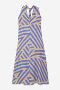 Viscose Fluid Long Dress