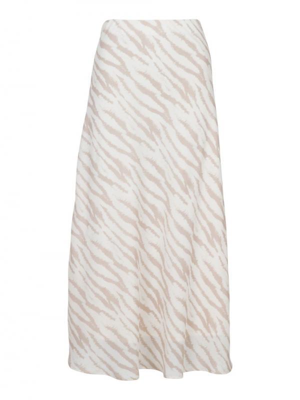 Bovary Shade Zebra Skirt Sand