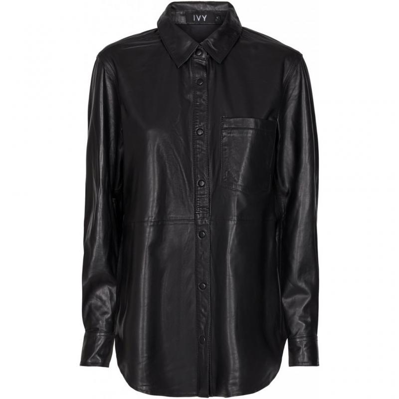 Kylie Leather Shirt