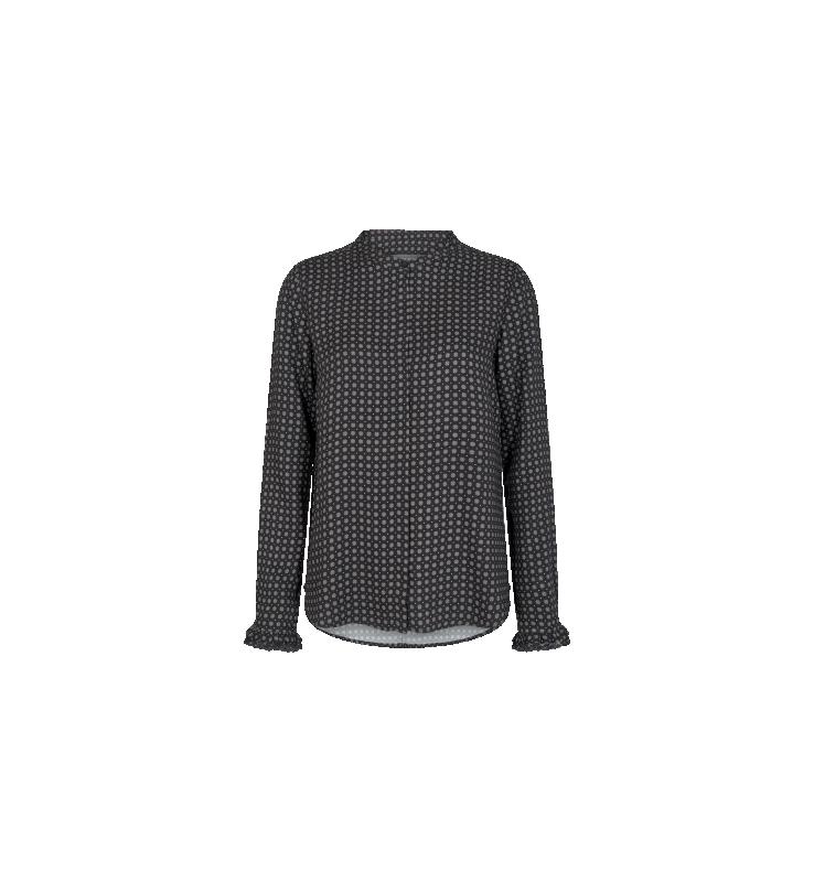 Mattie Tilia Lace Shirt Black