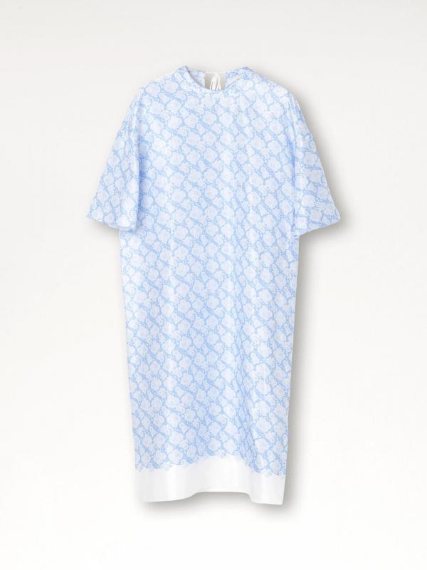 Caine Dress Pacific Blue