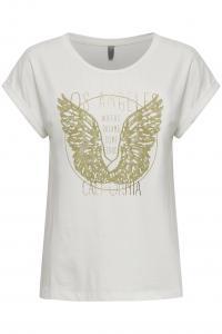 CUfrauke T-shirt Vit