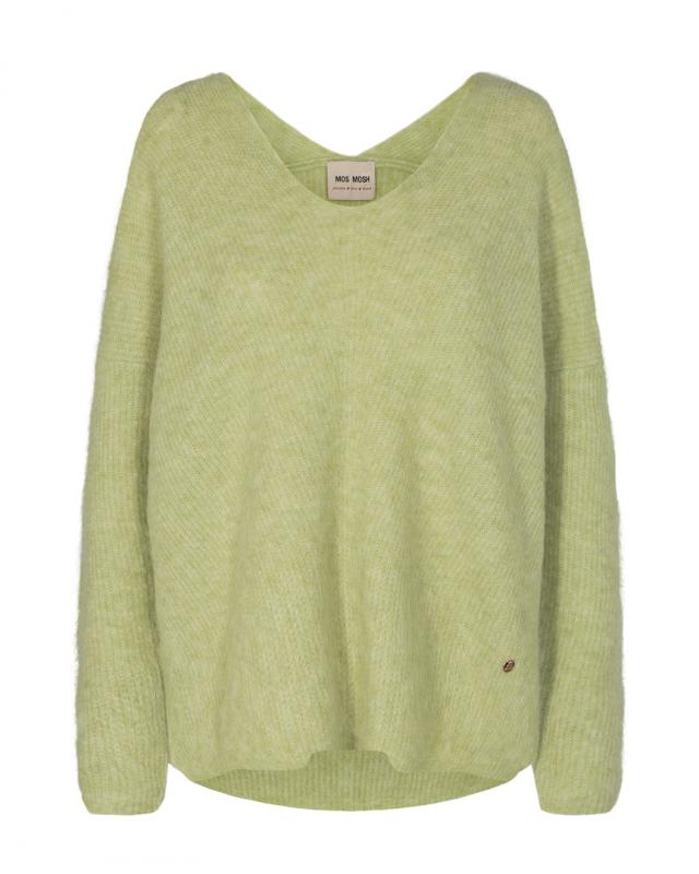 Thora V-neck Knit Winter Pear