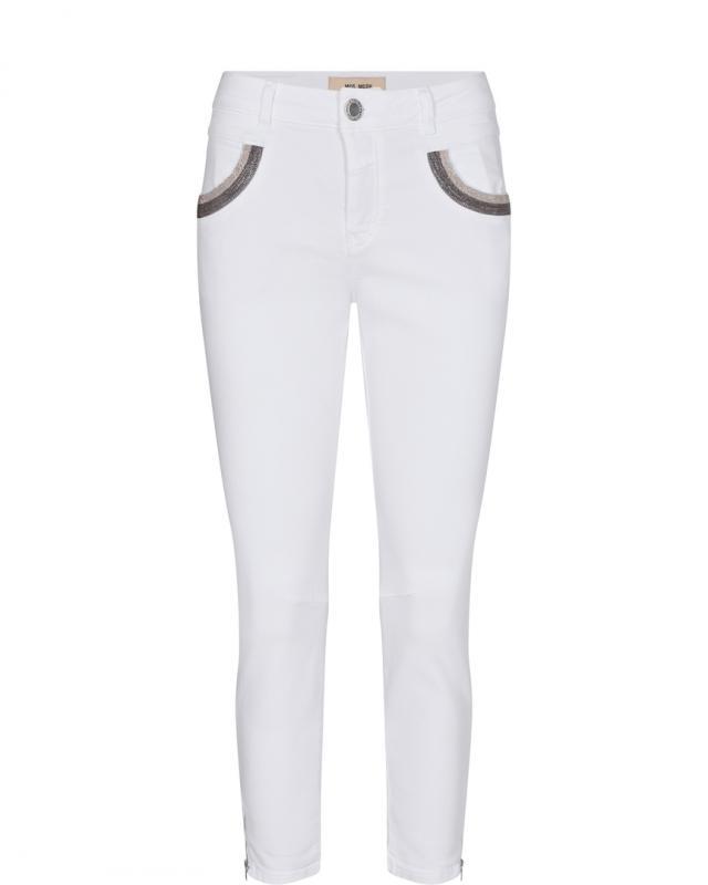 Naomi Shade White Jeans