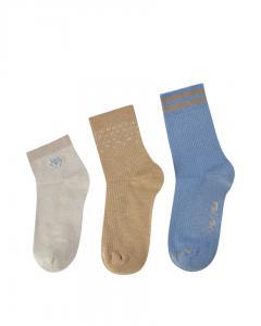 MM Lurex Socks Cuban Sand