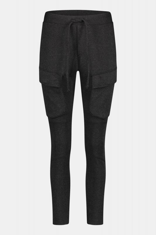 Cargo Trousers Black/Grey