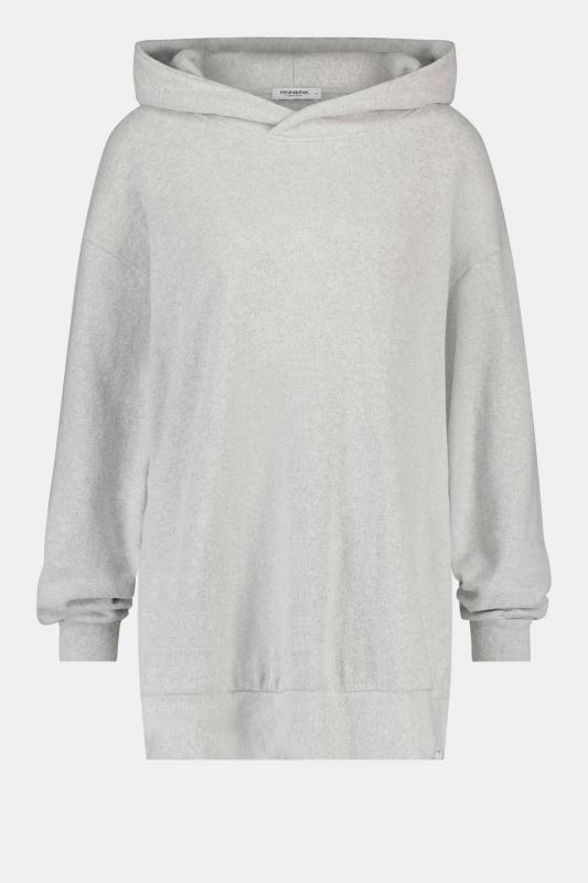 Soft Hoodie Grey Melange