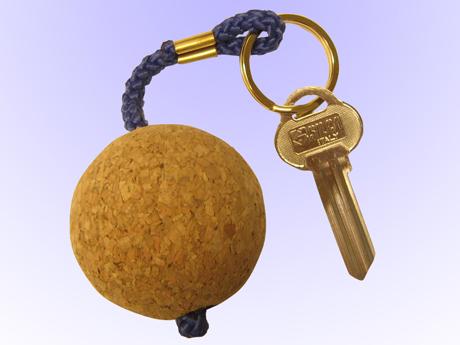 Nyckelring flytande Kork, boll
