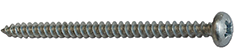 Cylinderskruv trä 70mm