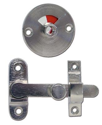 Toalettregel 5085 inåtgående nickel