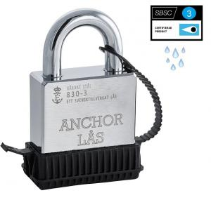 Anchor Hänglås WP 830-3, väderskyddat