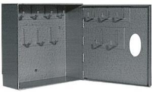 Nyckelskåp 1-12 krok Assa oval