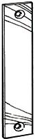 Blindstolpe 2301 slutbleck