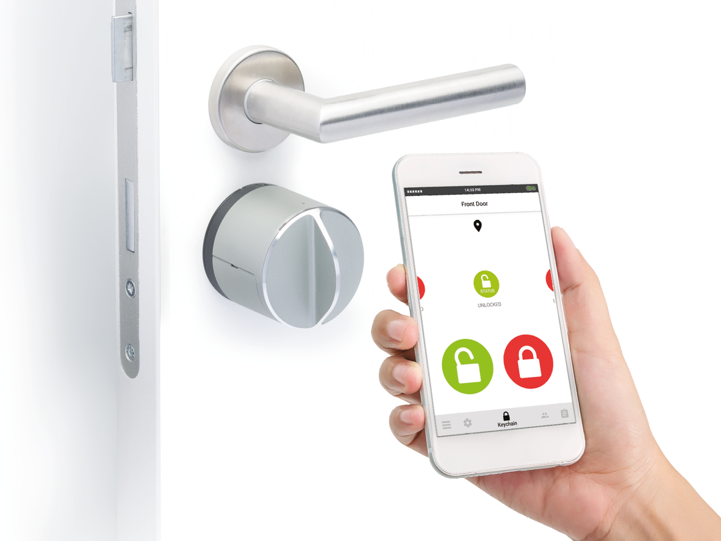 Bra Smart lås Danalock V3 Bluetooth DG-71