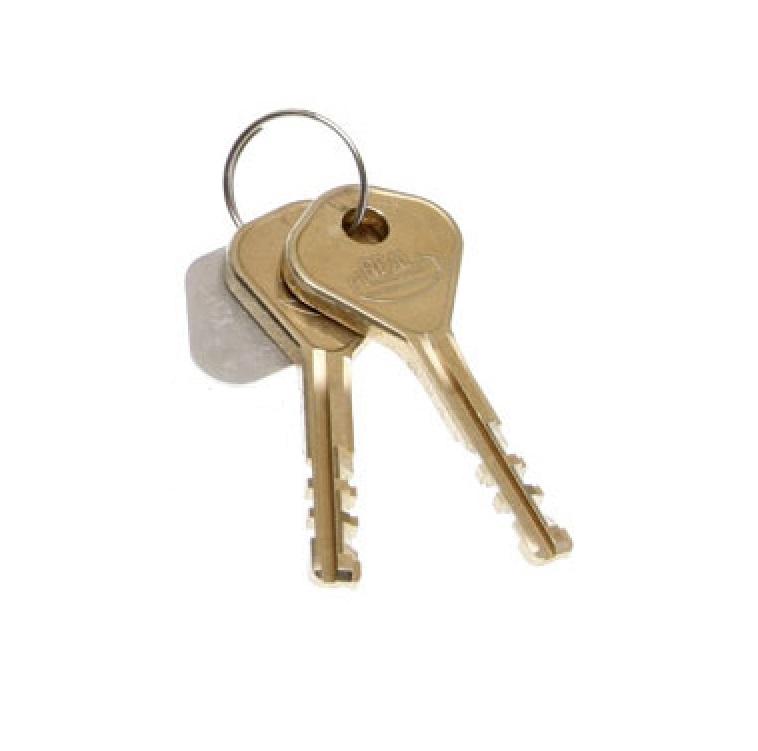 Nyckel Combilock släpvagnslås 2-pack