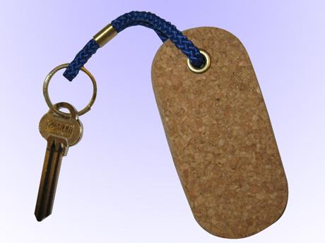 Nyckelring flytande Kork