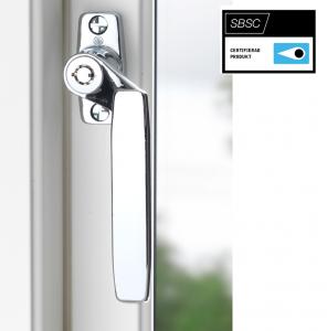 Fönsterhandtag BG293 låsbart Krom