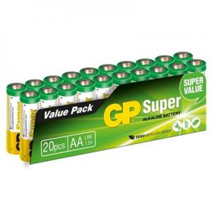 Batteri LR6 AA 20-pack