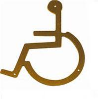 WC-skylt Handikapp 306I