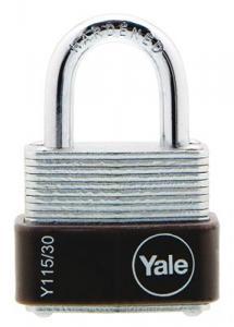 Hänglås 30mm Yale 115/30