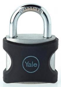 Hänglås 40mm Yale Svart