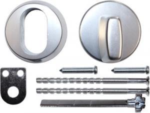 Hoppe Behörssats ovalcylinder silver