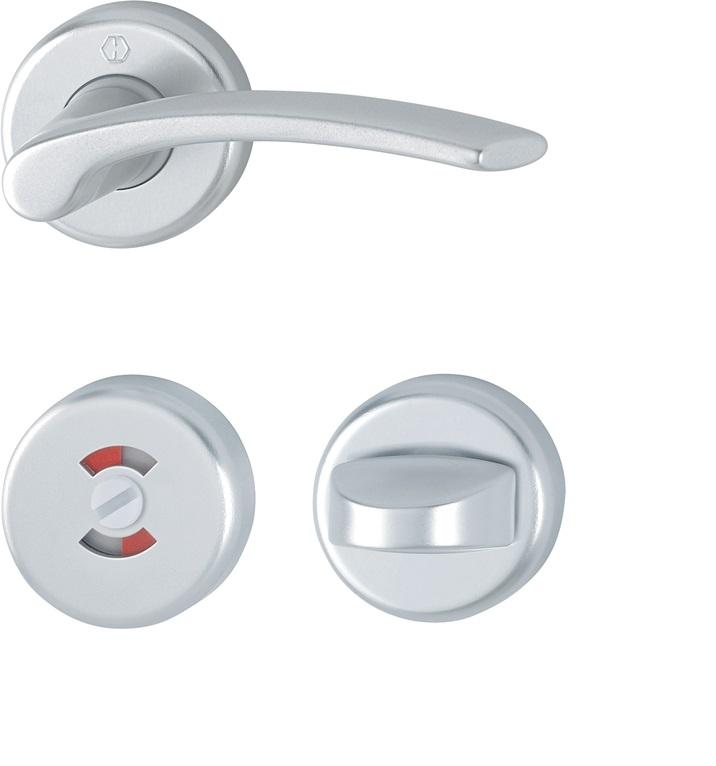 Hoppe Ibiza ID Handtag WC silver
