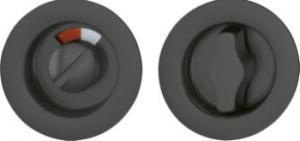 Hoppe Skjutdörrsbeslag WC 499 svart