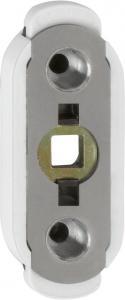 Hoppe Handtagsspärr KISI2 U26 -7mm vit