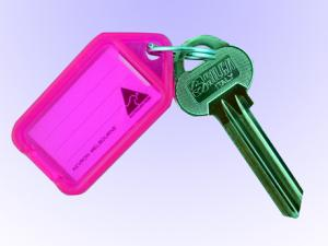 Nyckelbrickor Kevron Rosa 10-pack