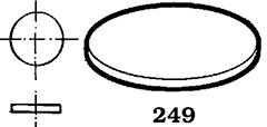Justerbricka 249 8.5X1