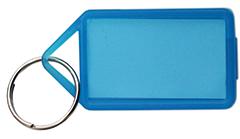 Nyckelbricka Blå 50-pack