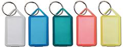 Nyckelbricka Blandade färger 50-pack