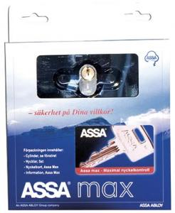 Cylinder Assa max 5601 inkl ny.