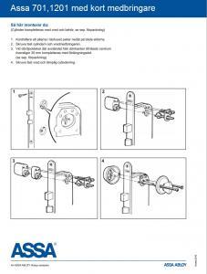 Montering Oval cylinder