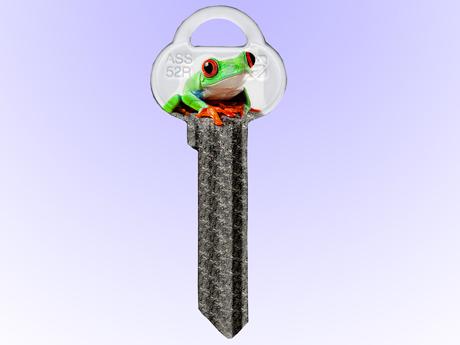 Nyckel med Djurmotiv