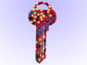 Nyckel med mönster