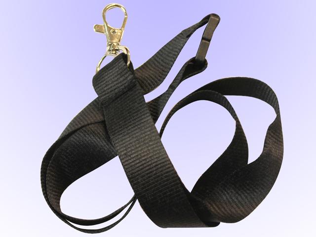 Nyckelband Svart