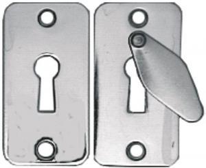 Nyckelskylt 5332 krom