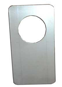 Täckskylt 70x130mm (PO167)