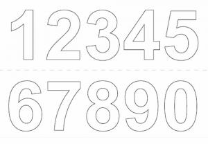 självhäftande bokstäver vita